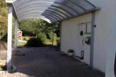 Carport - Speziallösung - feuerverzinkt - individuell angepasst