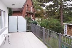 ... Ansicht von der Balkonseite