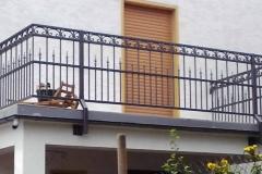 Modell Pedro - hier sind die Spitzen alternativ im unteren Bereich angebracht - ein Blickfang für das Haus