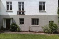 """Terrassenanbau - vorher war der Weg zum Garten weit - das wichtigste """"Zimmer des Hauses"""" fehlte"""