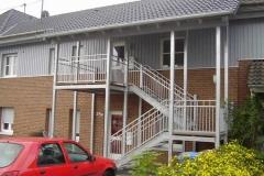 Stahl-Holzkombination Treppenanlage mit Geländer Elegance - ein Blickfang