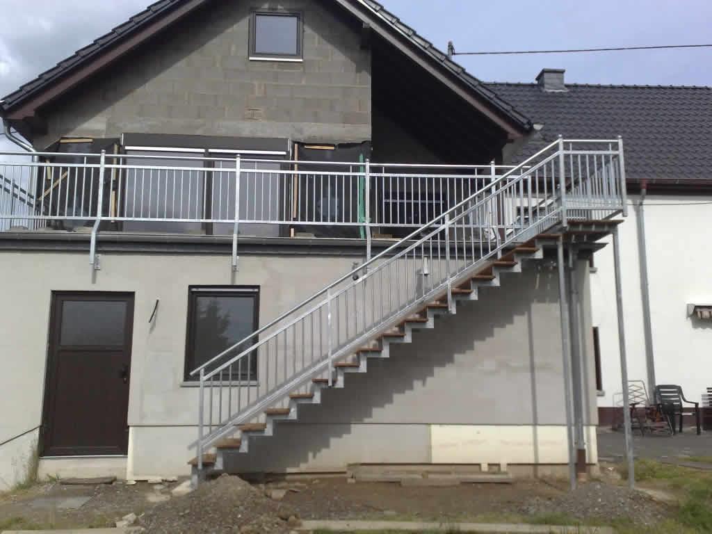 terrasse treppe stahl – wohn-design